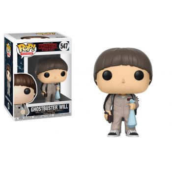 POP! 547 GHOSTBUSTER WILL. STRANGER THINGS