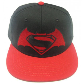 GORRA NEGRA LOGO BATMAN V SUPERMAN