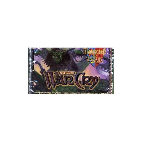 SOBRE 10 CARTAS WARHAMMER WARCRY: HARBINGERS OF WAR (ALEMAN)