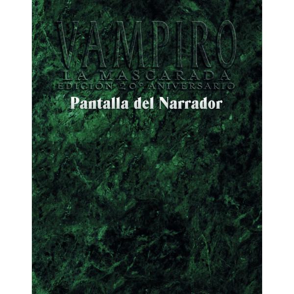 PANTALLA DEL NARRADOR - VAMPIRO: LA MASCARADA 20º ANIVERSARIO