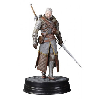 ESTATUA GERALT GRANDMASTER URSINE 24cm. THE WITCHER III WILD HUNT