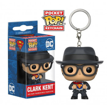 POCKET POP! LLAVERO CLARK KENT. DC COMICS