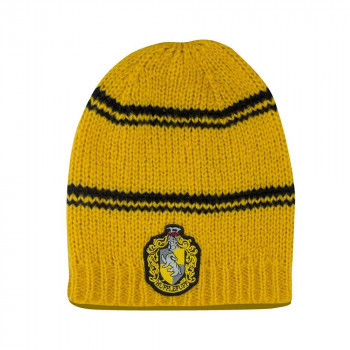 GORRO LANA HUFFLEPUFF. HARRY POTTER