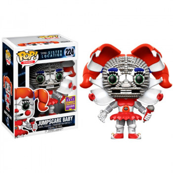 POP! 224 JUMPSCARE BABY (EXCLUSIVE SDCC 2017). FIVE NIGHTS AT FREDDY'S