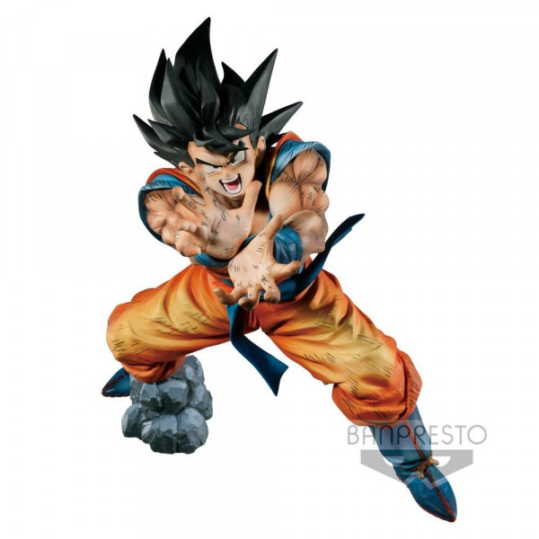 FIGURA SON GOKU KAMEHAME-HA PREMIUM COLOR EDITION BANPRESTO. DRAGON BALL Z