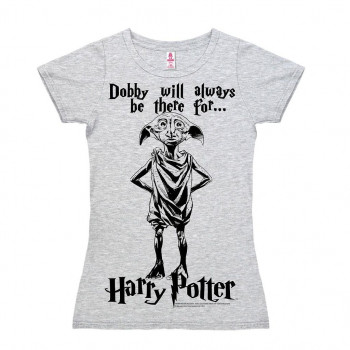 CAMISETA TALLA M. DOBBY. HARRY POTTER