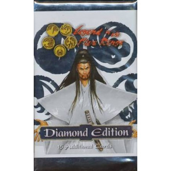 SOBRE 15 CARTAS LEGEND OF THE FIVE RINGS - DIAMOND EDITION (INGLES)