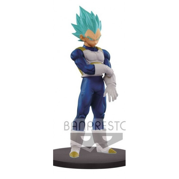 ESTATUA SUPER SAIYAN BLUE VEGETA 18cm. WARRIORS DXF. DRAGON BALL SUPER