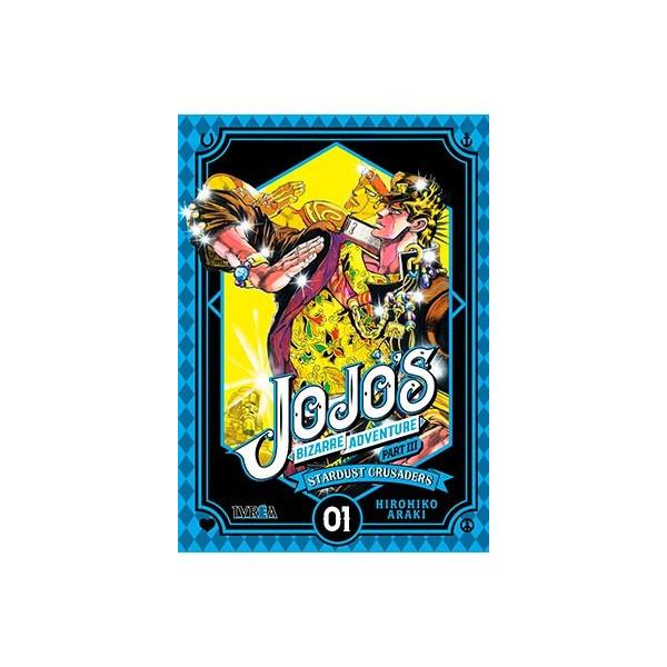 JOJO'S BIZARRE ADVENTURE PARTE 3: CRUSADERS 01