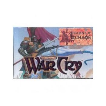 SOBRE 10 CARTAS WARHAMMER WARCRY: LEGIONS OF CHAOS (ALEMAN)