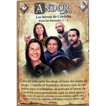 CARTA 'LOS HEROES DE CORDOBA' - LEYENDAS DE ANDOR (PROMO)