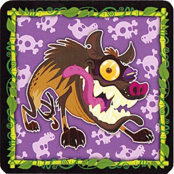 CARTA 'HIENA' (HYENA) - JUNGLE SPEED SAFARI (PROMO)