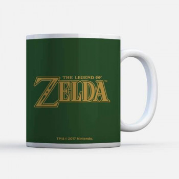 TAZA LOGO. THE LEGEND OF ZELDA