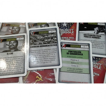PACK 4 CARTAS - TWILIGHT STRUGGLE (PROMO)