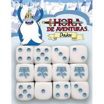 HORA DE AVENTURAS JDR - DADOS REY HIELO