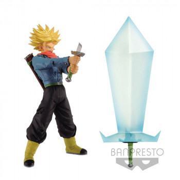 FIGURA SUPER SAIYAN 2 TRUNKS AND BLADE OF HOPE 24cm. DRAGON BALL SUPER