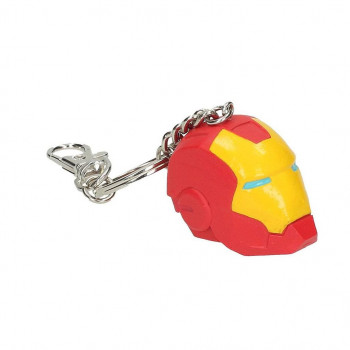 LLAVERO CASCO IRON MAN PVC....