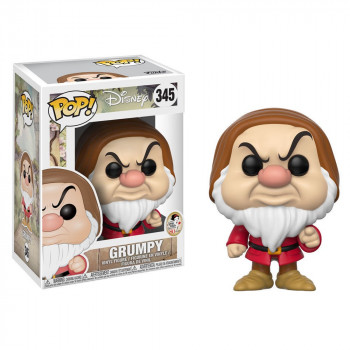 POP! 345 GRUMPY (GRUÑON) BLANCANIEVES. DISNEY
