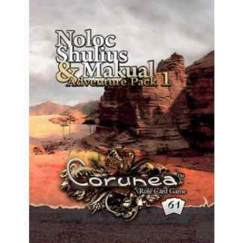CORUNEA - ADVENTURE PACK 1:NOLOC, SHULIUS & MAKUAL (INGLÉS/FRANCÉS)