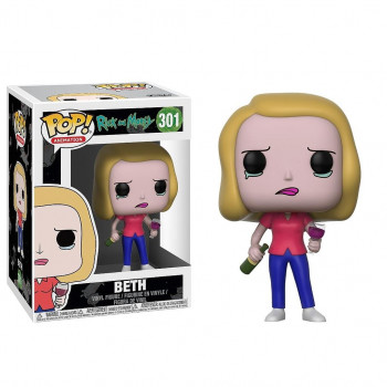 POP! 301 BETH. RICK Y MORTY