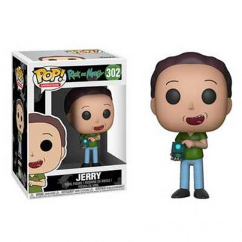 POP! 302 JERRY. RICK Y MORTY