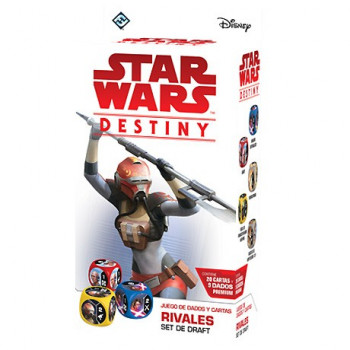 STAR WARS DESTINY - RIVALES: SET DE DRAFT