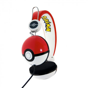 AURICULARES POKEBALL. POKEMON