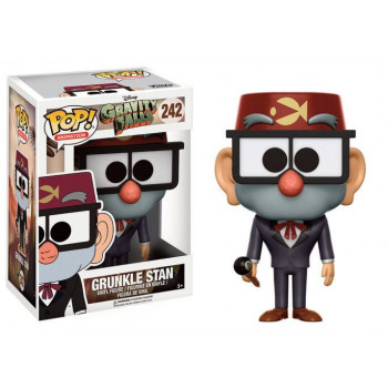 POP! 242 GRUNKLE STAN. GRAVITY FALLS
