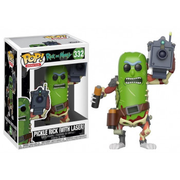 POP! 332 PICKLE RICK (WITH LASER). RICK Y MORTY