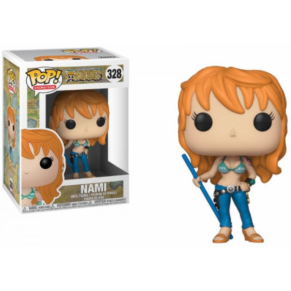 FUNKO POP! 328 NAMI. ONE PIECE