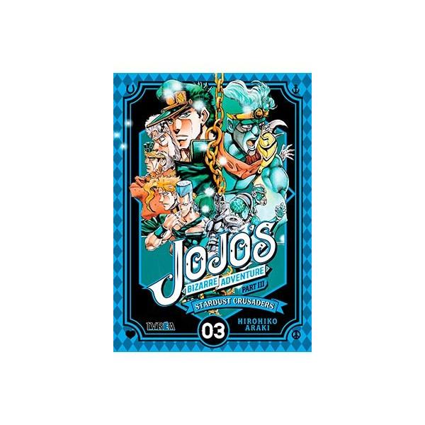 JOJO'S BIZARRE ADVENTURE PARTE 3: STARDUST CRUSADERS 03