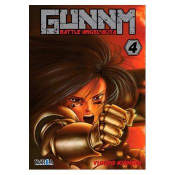 GUNNM (BATTLE ANGEL ALITA) 04