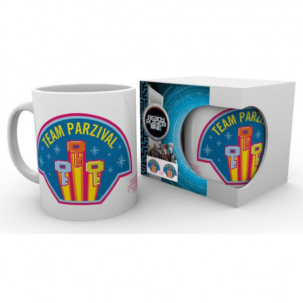 TAZA TEAM PARZIVAL. READY PLAYER ONE