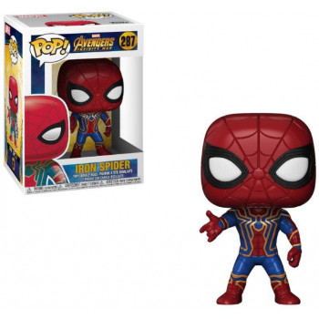 POP! 287 IRON SPIDER. AVENGERS INFINITY WAR