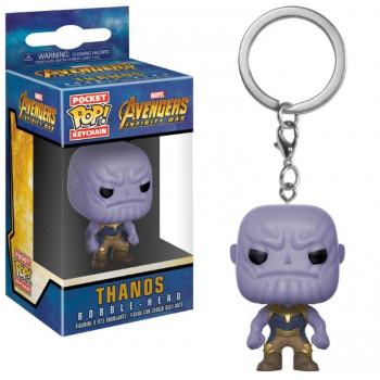 POCKET POP! LLAVERO THANOS. AVENGERS INFINITY WAR