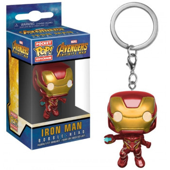 POCKET POP! LLAVERO IRON MAN. AVENGERS INFINITY WAR