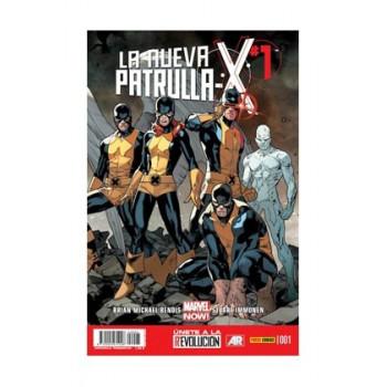 LA NUEVA PATRULLA-X 01