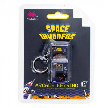 LLAVERO ARCADE MACHINE 6cm. SPACE INVADERS