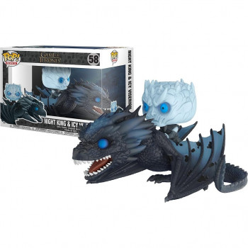 POP! 58 NIGHT KING & ICY VISERION. JUEGO DE TRONOS