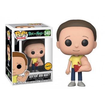 POP! 340 SENTIENT ARM MORTY (CHASE). RICK Y MORTY