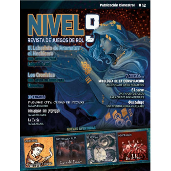 NIVEL 9 REVISTA DE JUEGOS DE ROL 12