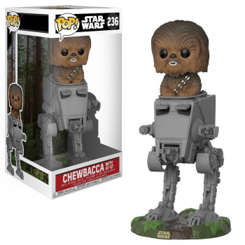 POP! 236 CHEWBACCA WITH AT-ST. STAR WARS