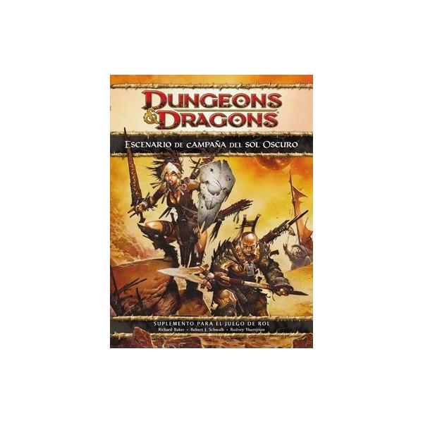 DUNGEONS & DRAGONS 4ª EDICION ESCENARIO DE CAMPAÑA DEL SOL OSCURO