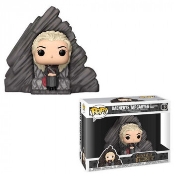 POP! 63 DAENERYS TARGARYEN ON DRAGONSTONE THRONE. JUEGO DE TRONOS