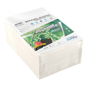 CARTONES BACKING BOARDS TAMAÑO CURRENT THICK FREE ACID (100 UNIDADES). ULTIMATE GUARD