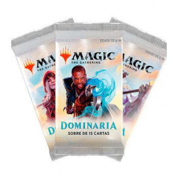 MAGIC - SOBRE 15 CARTAS DOMINARIA