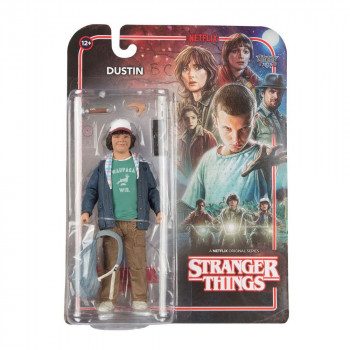 FIGURA DUSTIN 15cm. STRANGER THINGS