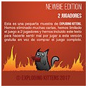 EXPLODING KITTENS PROMO/DEMO PACK (NEW BIE EDITION) (PROMO)