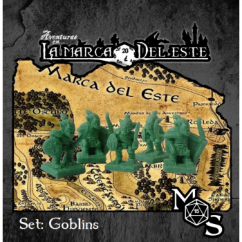 SET MINIATURAS GOBLINS -...
