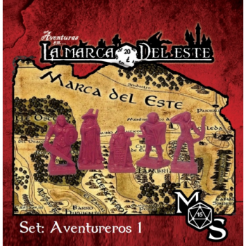SET MINIATURAS AVENTUREROS 1 - AVENTURAS EN LA MARCA DEL ESTE